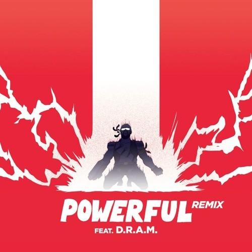 Major Lazer - Powerful (D.R.A.M. Remix)