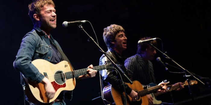 Damon Albarn & Noel Gallagher